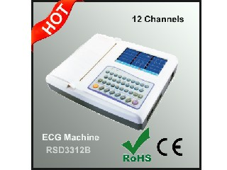 12 Channels ECG Machine
