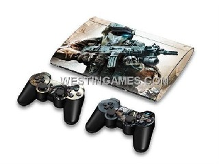 ps3 silicone controller skins Crystal Epoxy Skin Sticker Colourful For New Super Slim PS3 400X W/ 2