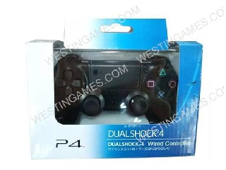 Perfect Version Wired Game Controller For Playstation 4 PS4 - Black