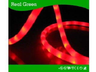 50Ft Scarlet Red LED Rope Light 3/8 Inch