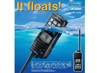 Marine Handheld VHF Transceiver (Floatable) IC-M34