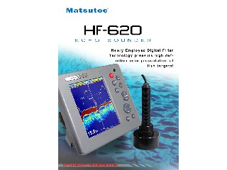 "5.7"" Color LCD Fish Finder HF-620"