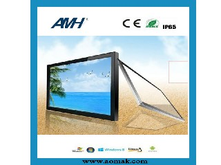 6 point outdoor Infrared Touch Screen AMH-T26-T6B