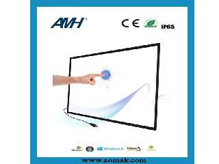 6 point Aluminium Frame Infrared Touch Screen AMH-T26-T6C