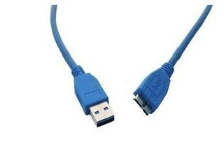 HDMI USB Data Transfer Cable , USB 3.0 A Male To Micro B Male Cable