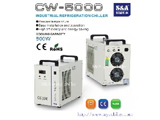 Water Chiller Model CW-5000 for 90watts CO2 laser cutting/engraver