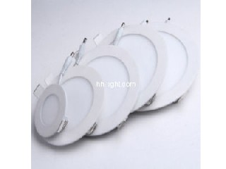 high quality Ultra slim led panel light 3w 4w 6w 9w 12w 15w 18w 24w- round panel light