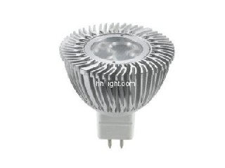 high quality AC/DC 12V GU10 MR16 spotlight 5w Compatible with electronic transformers