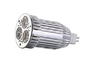 high quality AC/DC 12V GU10 MR16 spotlight 9w Compatible with electronic transformers