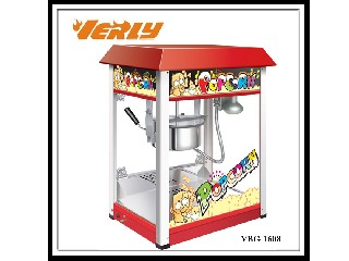 hot sale popcorn machine with CE approved VBG-1608