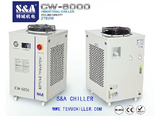 S&A laser water chiller for Wire EDM machine chilled