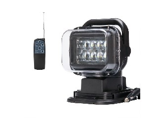 LED Car Search Light – 50W Cree XTE LEDs, IP67 Waterproof, 360 Degree Rotation
