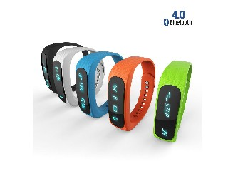 Bluetooth 4.0 Health Smart Bracelet Sleep Tracking,Pedometer, IP57 Waterproof, Call Reminder