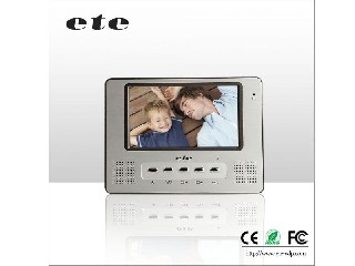 7 inch Video Door Phone Indoor Monitor T-708C