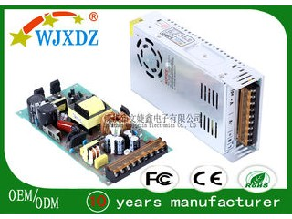 24V 15A Switched Centralized Power Supply 360W , Industrial Power Supplies WJX-S-360W-24V