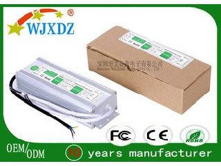 LED Tape Light Waterproof LED Power Supply 120W 10A Two Years Warranty WJX-WS-120W-12V
