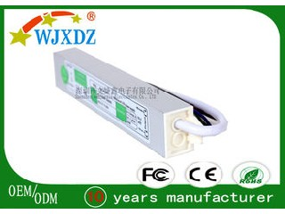 1.67A High Efficiency LED Lamp Power Supply Waterproof 20W CE ROHS Certification WJX-WS-20W-12V