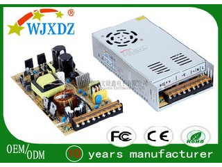 35A Alumimun AC DC Switching Power Supply 420W , LED Lighting Power Supplies WJX-S-420W-12V
