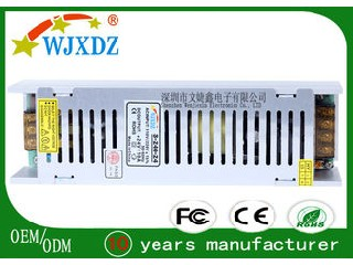 240W 24 Volt Switching Power Supply AC To DC Light Weight Constant Current Limiting WJX-SL-240W-24V