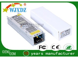 Pure Copper Transformer AC DC AC DC Switching Power Supply For LED Strip Lights WJX-SL-150W-12V
