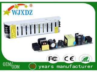High Efficiency AC DC Switching Power Supply 12V , LED Lamp Power Supply 60W WJX-SL-60W-12V