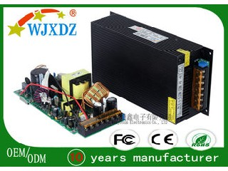 Centralized AC DC Switching Power Supply 480W 40A , Industrial Power Supply WJX-S-480W-12V