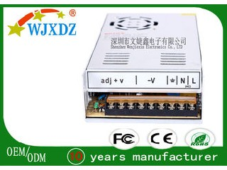 High Efficiency Professional Industrial Power Supplies 360W CE RoHS Certification WJX-S-360W-12V-A