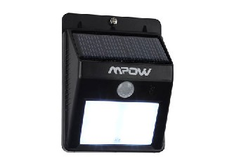 Solar Powered Wireless LED Security Motion Sensor Light for Outdoor Wall/Garden Lamp Peel