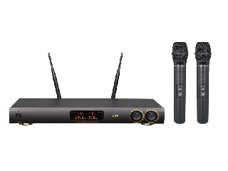 5000 Pro UHF wireless microphone system fixed frequency LCD color screen digital display LS-5000
