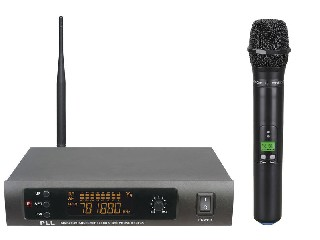 980 one handheld wireless microphone system UHF Infrared PLL single channel LCD Flexible LS-980