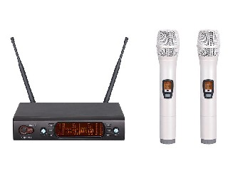 excellent quality 878 wireless microphone system UHF IR 200 channel colorful handheld