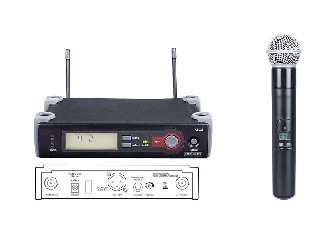 excellent quality SLX4 infrared wireless microphone system UHF single handheld SHURE SLX4