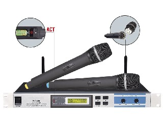 excellent quality 806 wireless microphone system 200 channels infrared selectable
