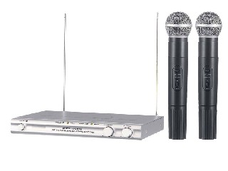 SM-500 2 channel VHF wireless microphone system good quality Nigeria Ghana