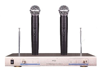 SM-920 2 channel VHF wireless microphone system good quality Nigeria Ghana