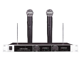 SM-6060 2 channel VHF wireless microphone system Nigeria Ghana