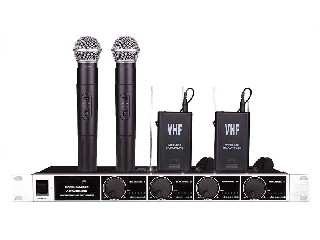 SM-9090 4 channel wireless microphone system VHF Nigeria Ghana