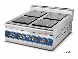 HIC-4 4-plate commercial induction cooker