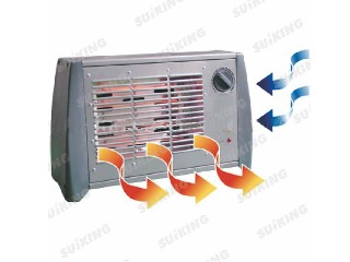 All metal housing Electric fan heater
