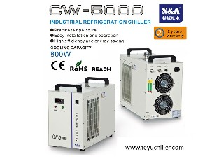 S&A closed loop chiller for Laser Scan Engraving Photo's