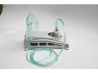 hand or foot operated nebulizer with face mask  RJ-401