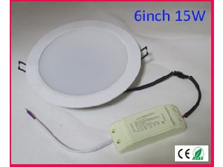 "China manufacturing Fire Rated LED lights 6"" 15W recessed downlight"