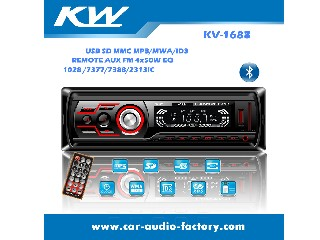 Fixed Panel Car MP3 Player KV1688