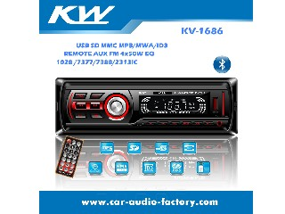 MP3 Player Car Audio with Bluetooth