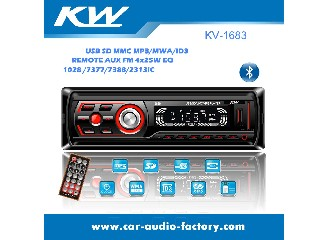 KV1683 Car MP3 Player with small Heat Sink