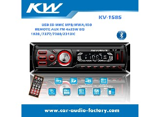 KV1585 Car MP3 Player with FM Radio,Clock Function