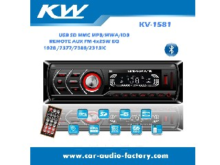 KV1581 LED screen Car MP3 Player with FM Radio