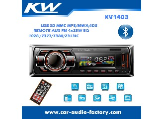 KV1403 Car MP3 Player with Remote Control