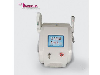 2 handles E-light rf ipl skin rejuvenation KS-ER01
