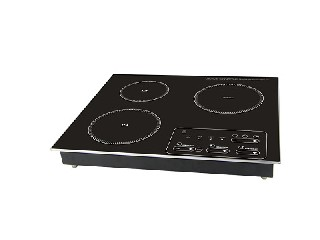 induction cooker with three burners with built in VP3-35D-1